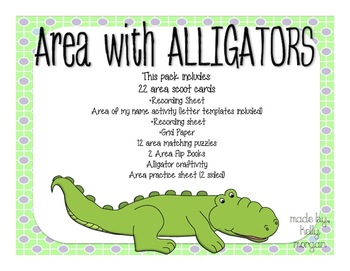 Area with Alligators
