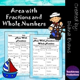 Area with Fractions and Whole Numbers