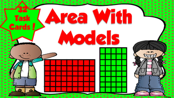 Area with Models Task Cards
