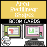 Area with Rectilinear Shapes Boom Cards