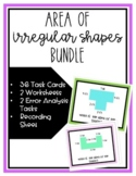 Area of Irregular Shapes Task Cards