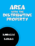 Area with the Distributive Property