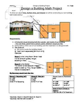 Area/Volume House Design Project