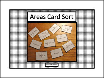 Areas Card Sort