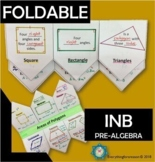 Areas of Polygons Foldable +Digital for Google Classrooms