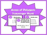 Areas of Polygons Scavenger Hunt