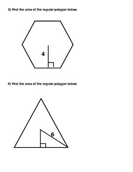 Areas of Regular Polygons Simultaneous RoundTable