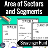Areas of Sectors and Segments Scavenger Hunt
