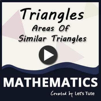 Areas of Similar Triangle
