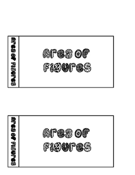 Areas of figures foldable