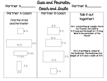 Aree and Perimeter Coaching and Scribe