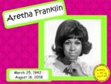 Aretha Franklin: Musician in the Spotlight