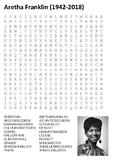 Aretha Franklin Word Search