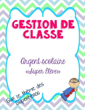 Argent scolaire - French school money