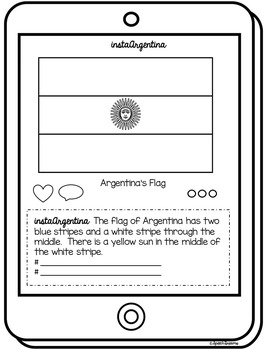Argentina: Country Study {Discovery Booklet} Instagram