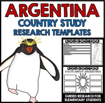 Argentina Country Study Research Project Templates