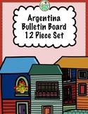 Argentina Bulletin Board 12 Piece Set