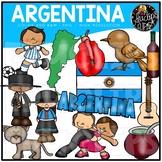 Argentina Clip Art Bundle {Educlips Clipart}