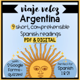 Argentina Comprehensible Spanish Reading all about Argenti