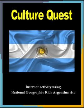 Argentina Cultural Internet Activity