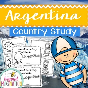 Argentina Country Study 48 Pages for Differentiated Learning + Bonus Pages