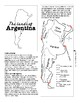 Argentina Lap Book