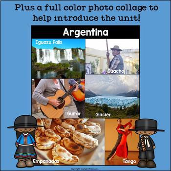 Argentina Mini Book for Early Readers - A Country Study