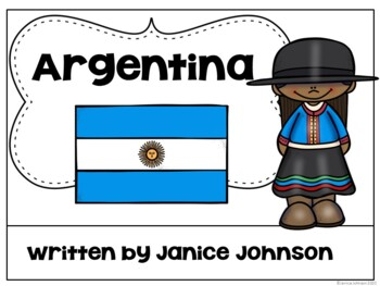 Argentina Reader {English Version} & Vocab pages ~ Simplified for Young Readers