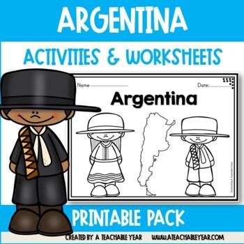 Argentina - Vocabulary Pack