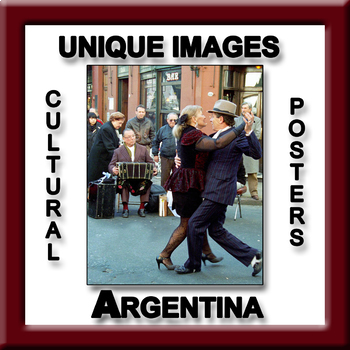 Argentina in Photos Poster - Vertical