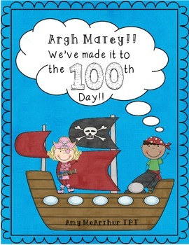 Argh, Matey! We've made it to the 100th Day!!!