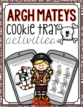 Argh Mateys  Cookie Tray Activities
