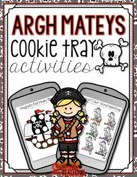 Argh Mateys  Cookie Tray Activities