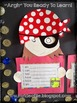 Argh You Ready To Learn - an I Am craftivity for Back to School