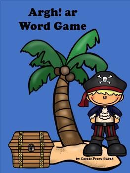 Argh! ar Word Game
