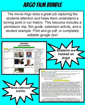 Argo Movie Bundle