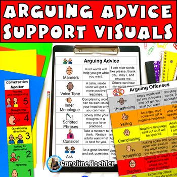 Arguing Advice: Tool to Decrease Power Struggles: Autism, Aspergers, ED