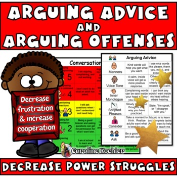 Arguing Advice: Tool to Decrease Power Struggles: Autism,