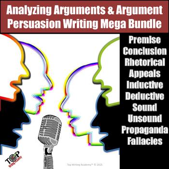 Persuasive Essay & Argument Analysis Big Bundle
