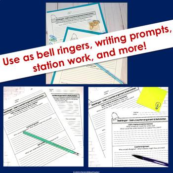 Argument Bell Ringers: Claim, Counterargument & Refutation