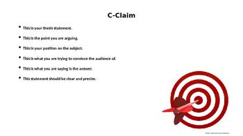 Argument - Bulletin Board Powerpoint Slides