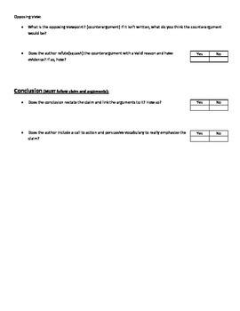 Argument Critique Questioning Guide