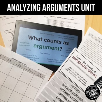 Argument & Rhetoric Unit: Critique Fallacies, Propaganda, & More in Nonfiction