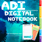 Argument Driven Inquiry ADI CER Digital Notebook