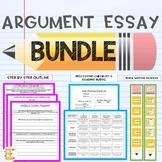 Argument Essay Bundle (Outline, Peer edit, Rubric, Writing