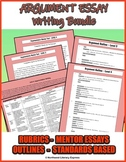 Argument Essay Bundle