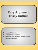 Argument Essay Easy Outline