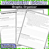 Argument Essay Graphic Organizer and Outline Great for Struggling Writers