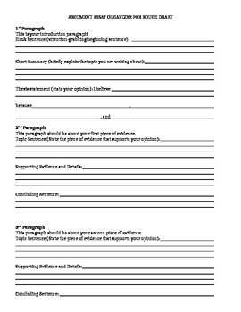 essay frame graphic organizer Our graphic organizers are designed to facilitate understanding of key concepts by  five-paragraph essay graphic organizers  graphic organizer.