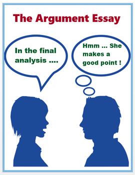 Argument Essay - Scaffolded